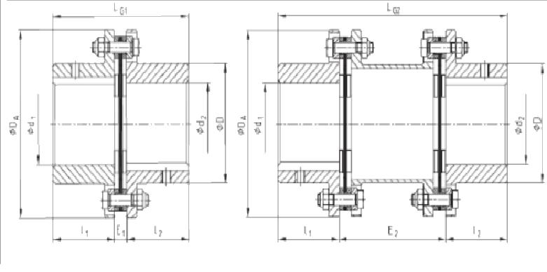کوپلینگ دیسکی RADEX - توان گستر آرمانی - دیسک کوپلینگ - کوپلینگ فنری