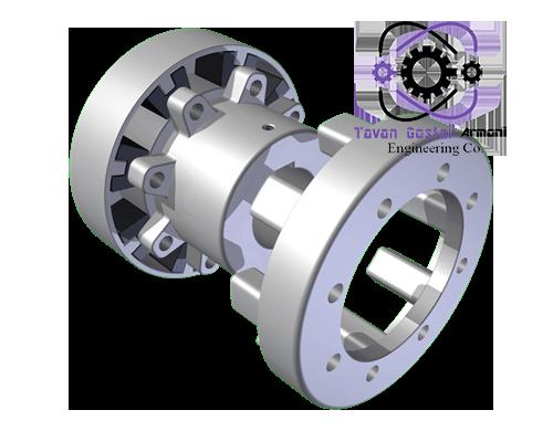 کوپلینگ NEUPEX A - کوپلینگ KB سه تکه - توان گستر آرمانی - کوپلینگ فلندر